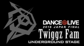 Twiggz Fam / DANCE@LIVE 2016 JAPAN FINAL UNDERGROUND STAGE